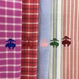 Lot of 5 Brooks Brothers Logo Men's Shirts Large